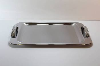 226 ΨΑΘ serving tray - INOX 18/C   24x 38 cm