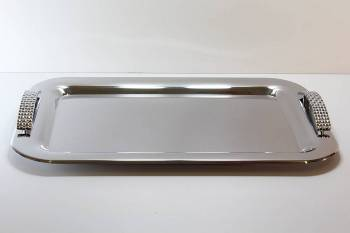 229 ΨΑΘΑ  serving tray - INOX 18-C 30 x 44 cm