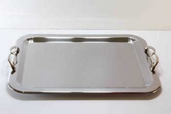 575 serving tray - INOX 18/10   28 X 38 cm