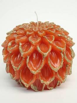 Αχινός πορτοκαλί χρυσό μεγάλος