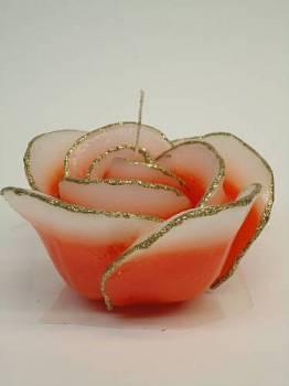 Τριαντάφυλλο πορτοκαλί-χρυσό medium