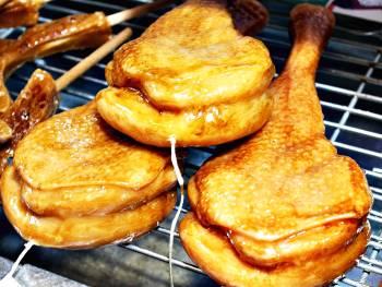 Πασχαλινή λαμπάδα Μπούτι κοτόπουλο XL 28x11x4.5cm