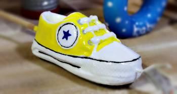 Παπουτσάκι κίτρινο