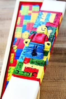 Πασχαλινή λαμπάδα 19Χ008 Lego ΣΕΤ 28x7cm