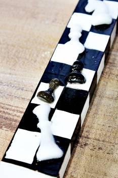 Πασχαλινή λαμπάδα 19Χ011 Σκάκι new 25x4x2cm