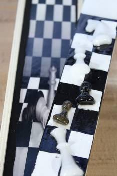 Πασχαλινή λαμπάδα 19Χ011 Σκάκι new ΣΕΤ 28x7cm