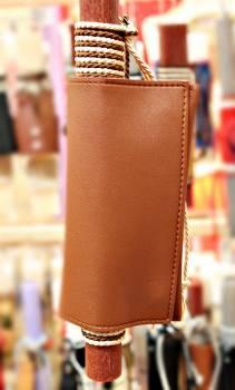 19Δ023 καπνοθήκη καφέ vegan eco leather