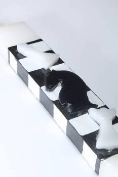 Πασχαλινή λαμπάδα 17Χ024 ΣΚΑΚΙ 25x4x2cm