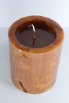 Σκαφτό κομμάτια 11.5x15 cm καφέ με άρωμα κανέλα