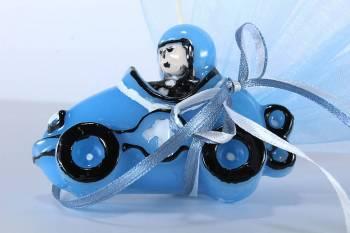 Κέρινο αυτοκινητάκι αγωνιστικό 8*5.5 cm