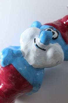 Πασχαλινή λαμπάδα 3D Παππούς μπλε