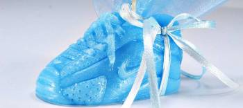 Κέρινο παπουτσάκι αθλητικό 8*4*4 cm