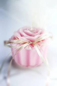 Κέρινο cup cake λουλούδι 7*6*5 cm