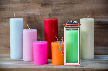 Αρωματικό κερί ματ  6.50x15cm