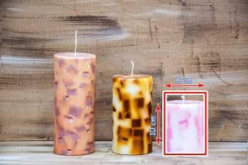 Αρωματικό κερί με κομμάτια 8x10cm