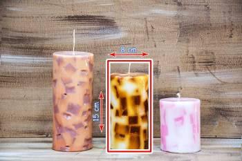 Αρωματικό κερί με κομμάτια 8x15cm