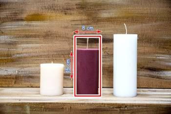 Αρωματικό κερί ματ  8x15cm