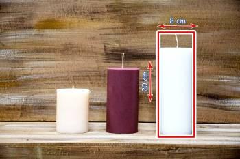 Αρωματικό κερί ματ 8x20cm