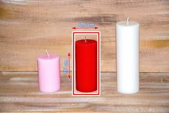Αρωματικό κερί γυαλιστερό 6.50x15cm