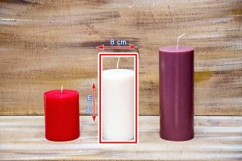 Αρωματικό κερί γυαλιστερό  8x15cm