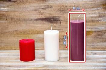 Αρωματικό κερί γυαλιστερό 8x20cm