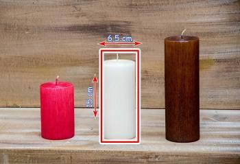 Αρωματικό κερί σαγρέ 6.50x15cm