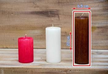 Αρωματικό κερί σαγρέ 6.50x20cm
