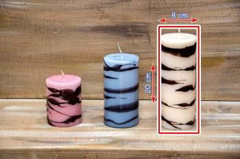 Αρωματικό κερί abstract 8x20cm